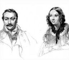 Александр Данилевский и его жена Ульяна Похвиснева